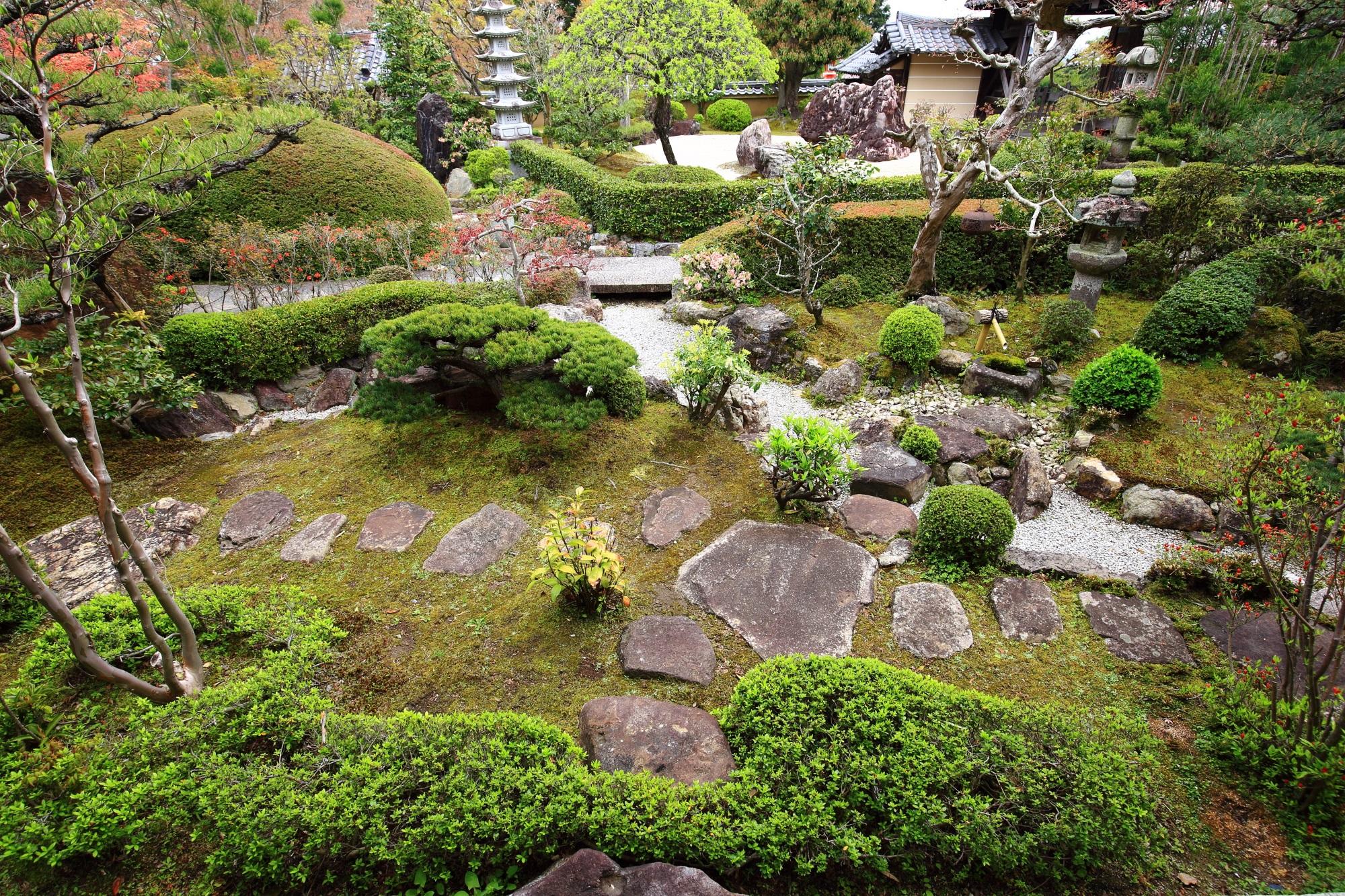 高画質 写真 庭園 正法寺