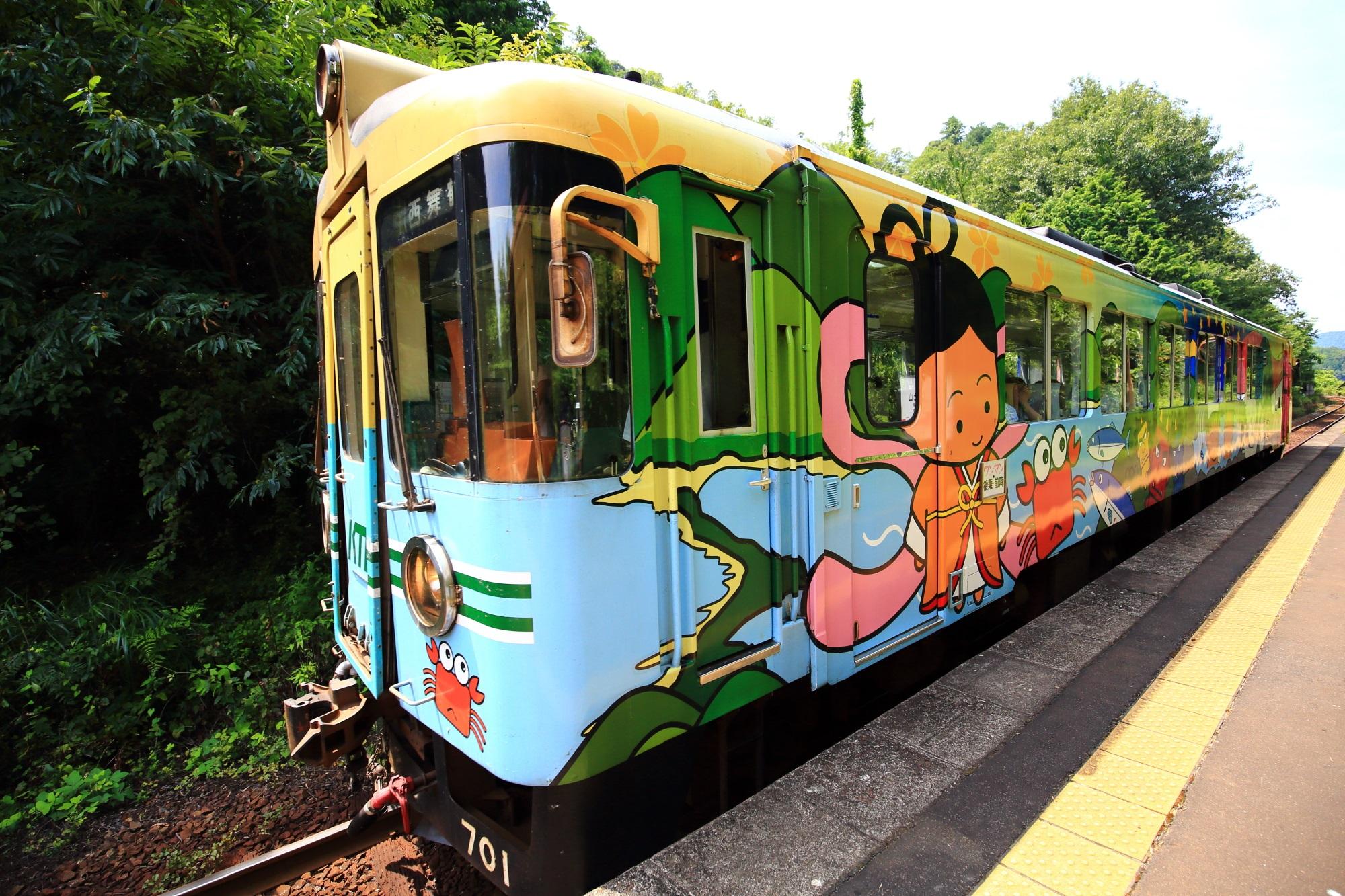 いろんな列車やバージョンがある京都丹後鉄道