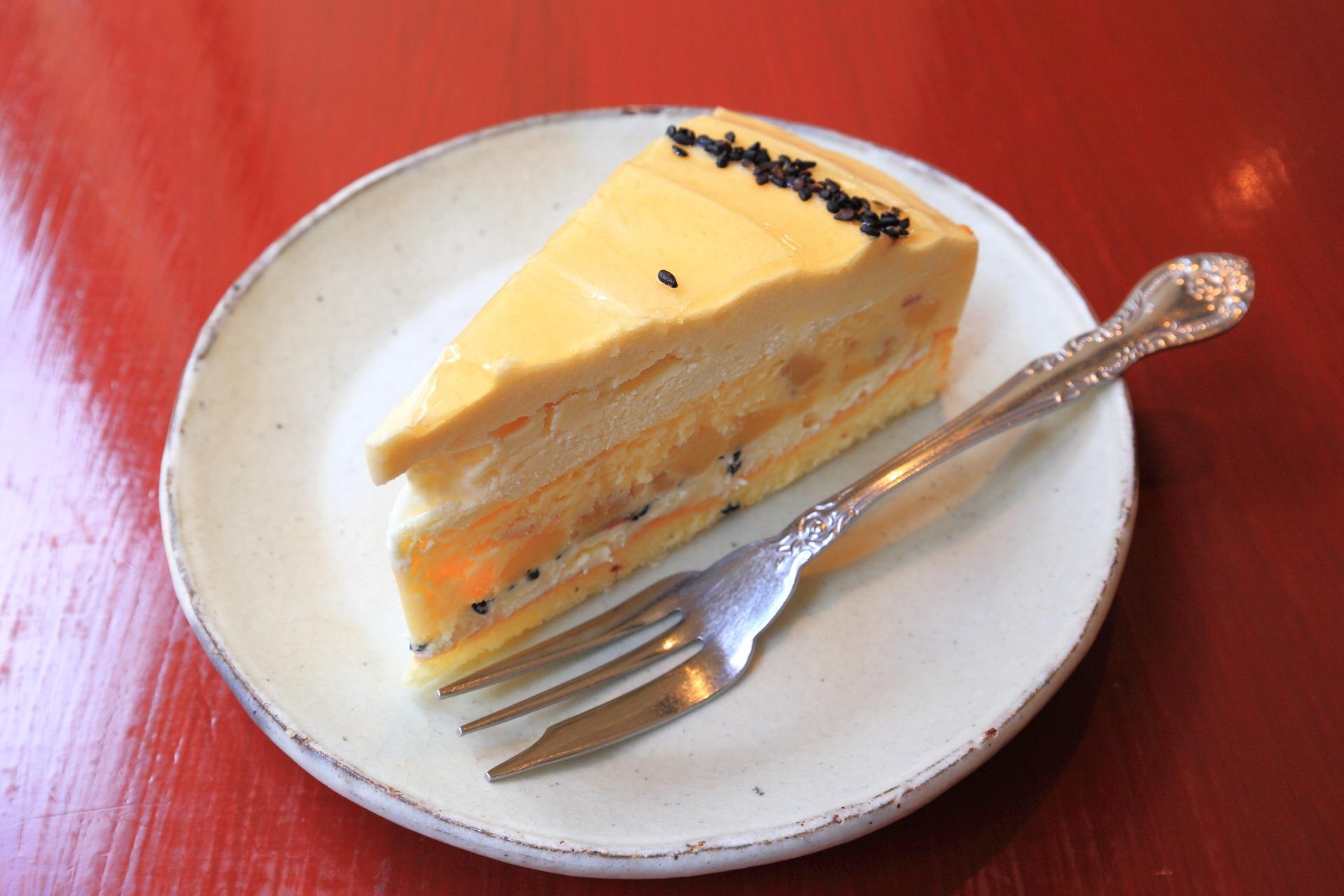 のパパジョンズのスイートポテトチーズケーキ(税抜550円)