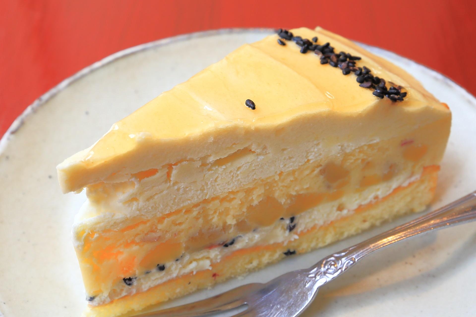 スイートポテトチーズケーキ パパジョンズ六角店