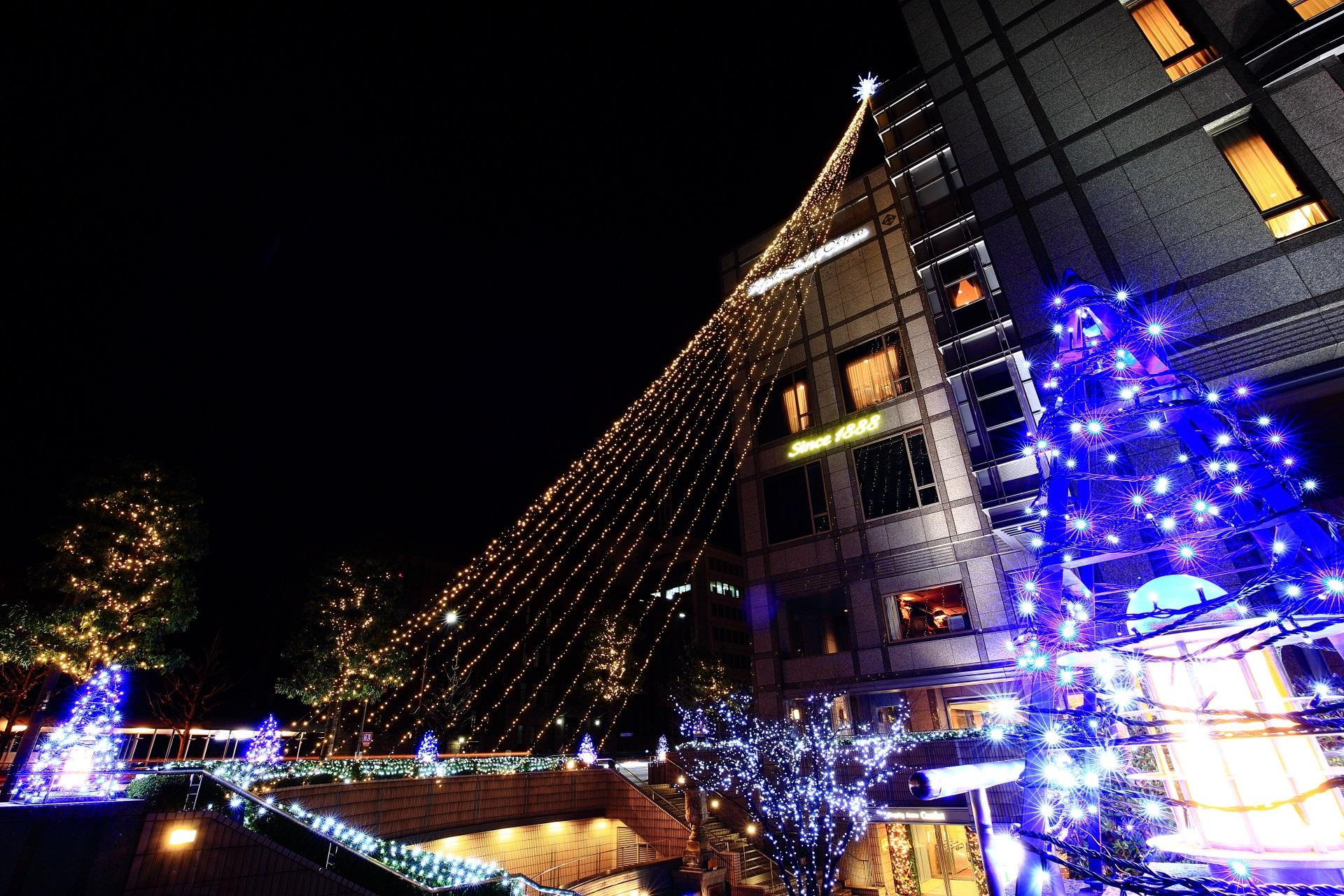Kyoto hotel Okura illumination