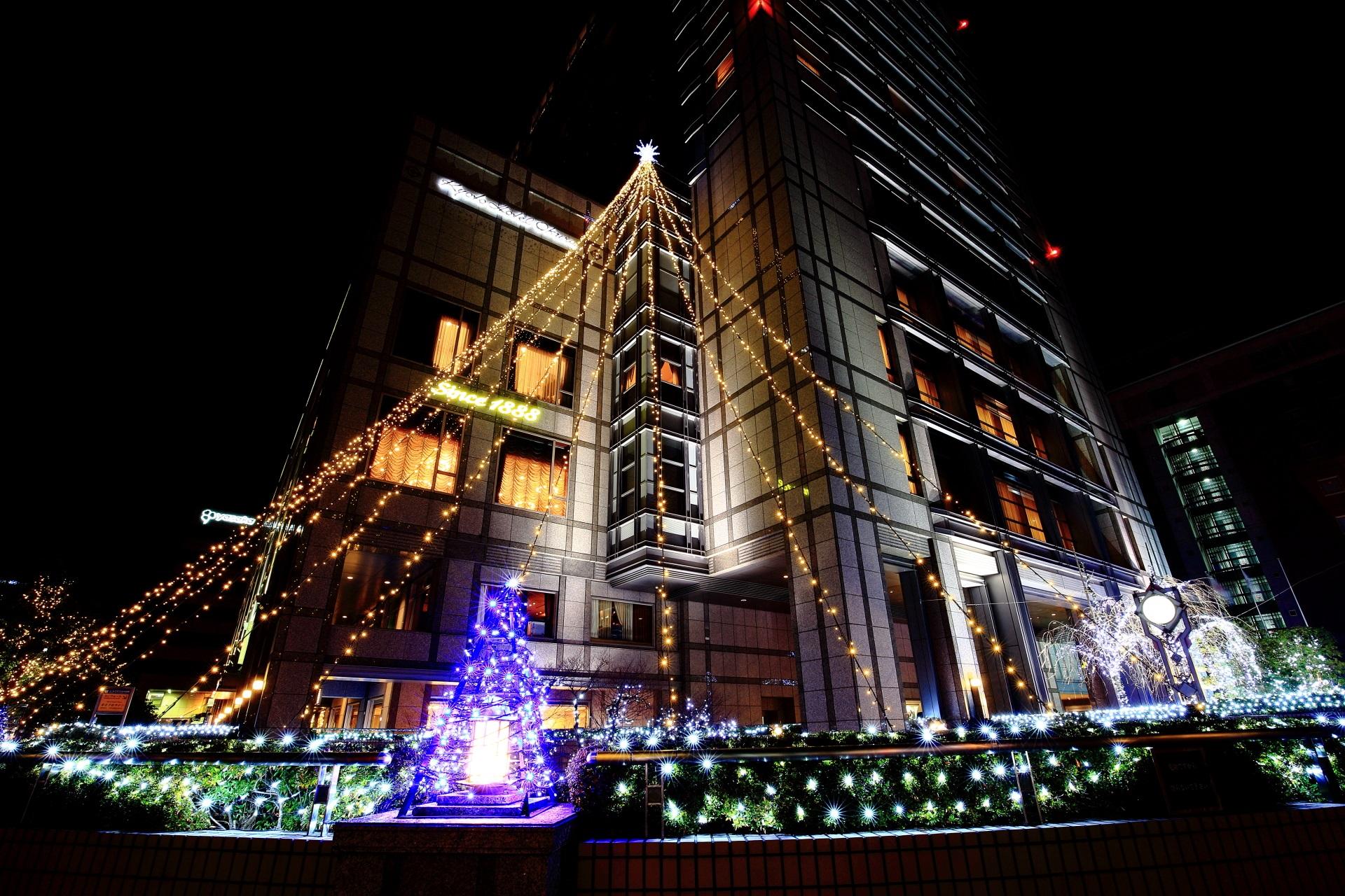 高画質 写真 京都ホテルオークラ イルミネーション