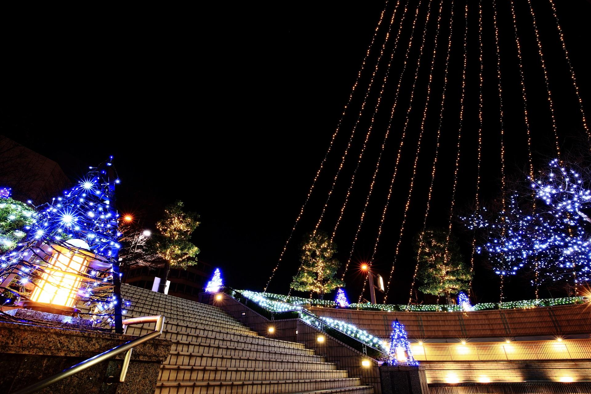 高画質 京都ホテルオークラ イルミネーション 写真